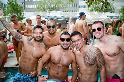 Sydney Mardi Gras Pool Party 29 02 2016