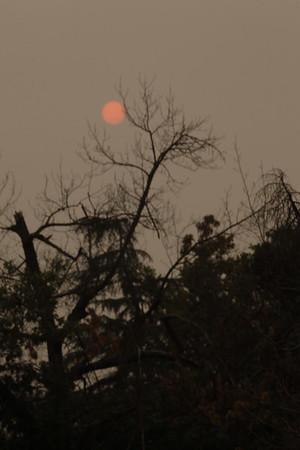 Creek Fire Sunset
