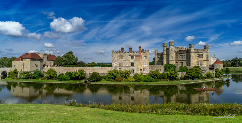 Serene and idyllic at Leeds Castle