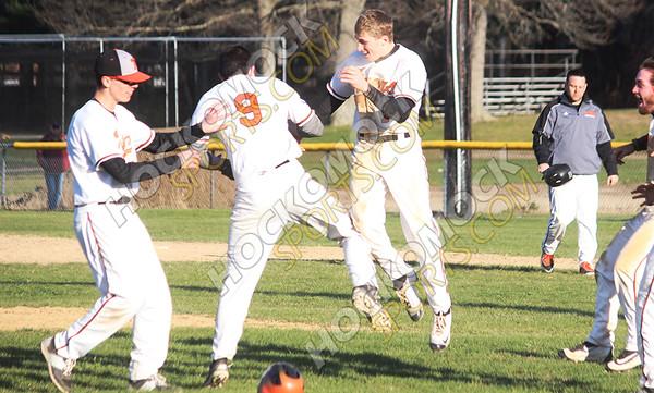 Attleboro - Taunton Baseball - 04-15-16