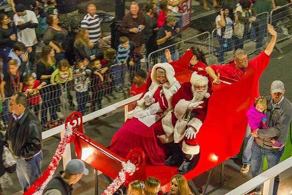 Christmas Parade 2016 Ybor City