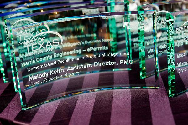 2019 Texas DGS Best of Texas Awards