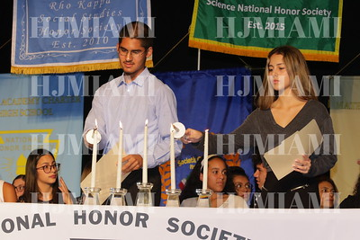 NHS Induction Ceremony 12/04/18
