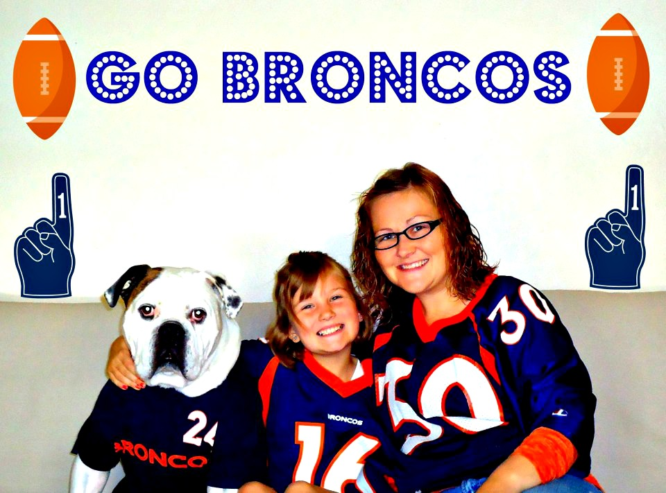 . Gus, McKenzie and Jennifer (left to right). Bleed Orange and Blue!! Go Broncos!! Jennifer Anderson