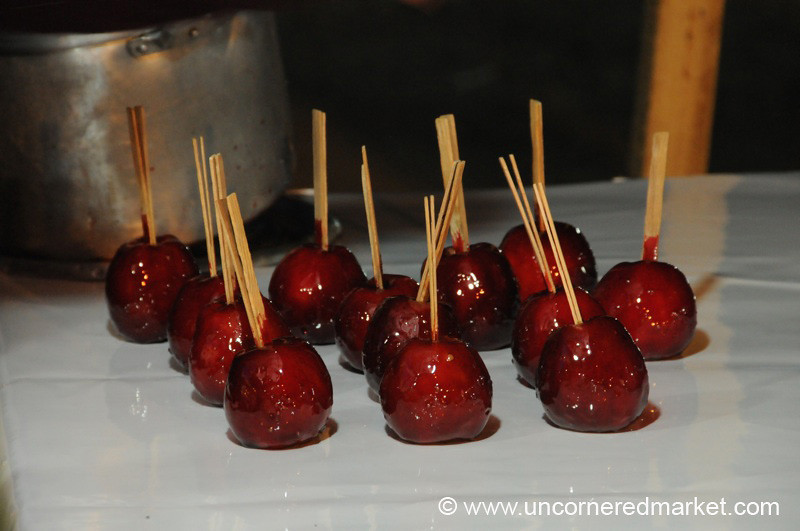 Candied Apples - Cochabamba, Bolivia
