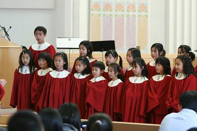 Easter choirs 2008