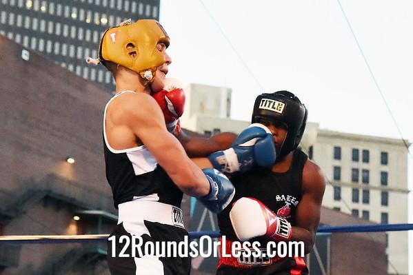 Bout #8 Mardal Halas, Salem/Salem Boxing -vs- Joseph Williams, Akron/Rock Hard Cash, 160 lbs