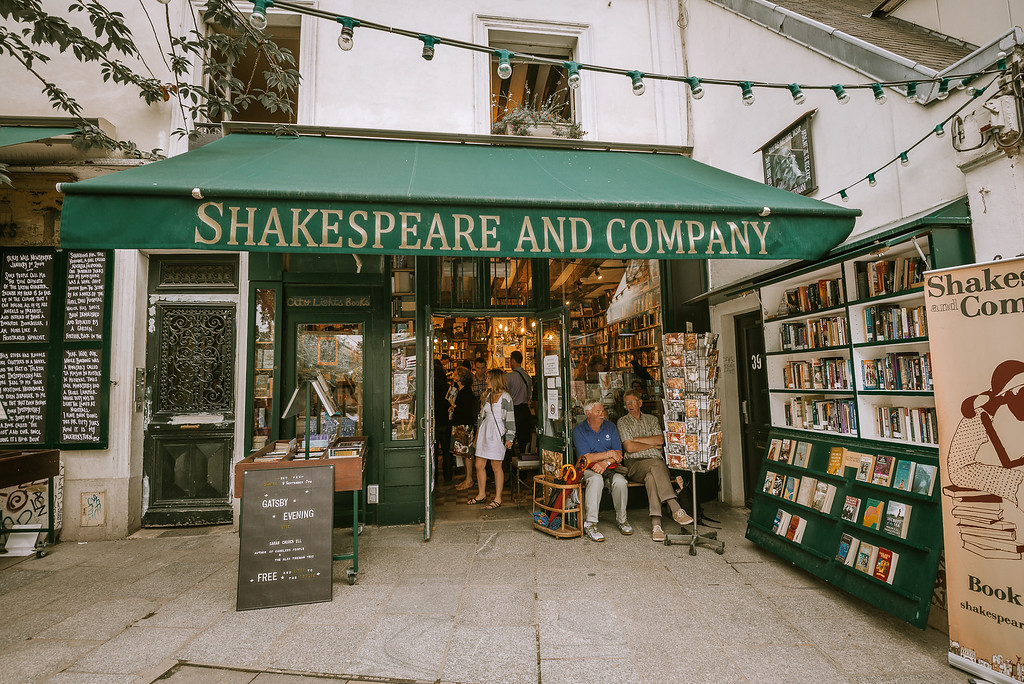 巴黎 莎士比亞書店 Shakespeare and Company 介紹 by Wilhelm Chang 張威廉
