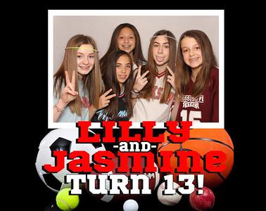 Lilly and Jasmine Turn 13!