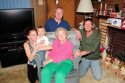 Csencsits - 5 Generations