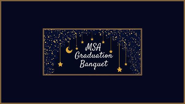 MSA Graduation Banquet