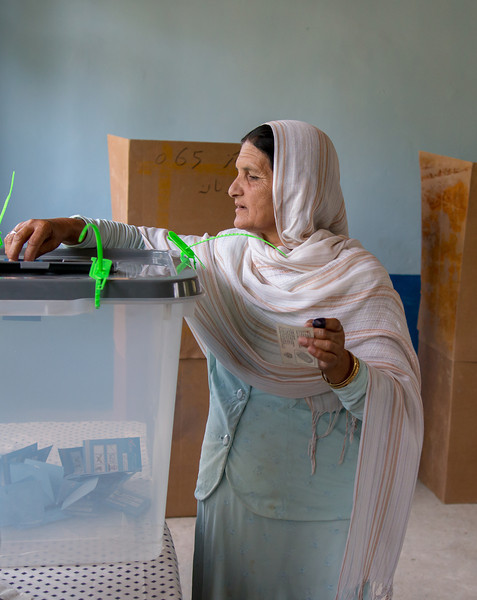 Afghanistan 2014 Presidential Elections Round 2