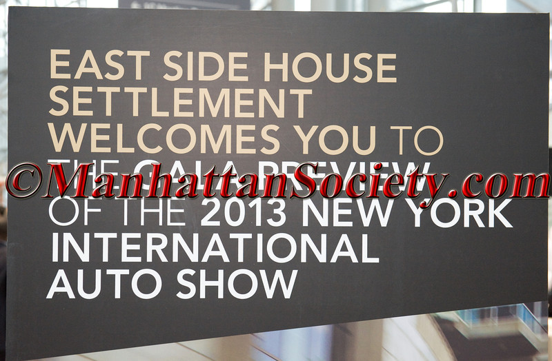 East Side House Settlement Gala Preview of the 2013 New York International Auto Show
