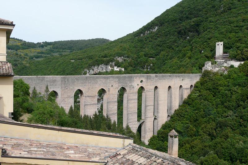 Ponte delle torri. Spoleto, Umbria