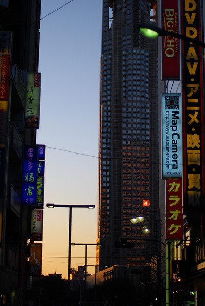 Shinjuku after Sunset  (C) 2008 Brian Neal