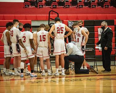 2021 Boys Varsity Basketball:  Hall-Dale vs Winthrop