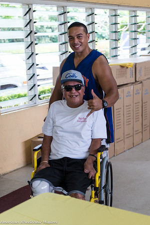 American Samoa Wheelchair Distribution (April 2015)