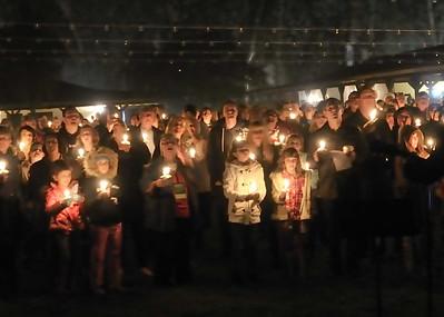 Rancho Nativity Lighting 2012