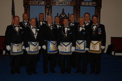 RW Bob Crockets Installation as Master Wm Parkman Lodge