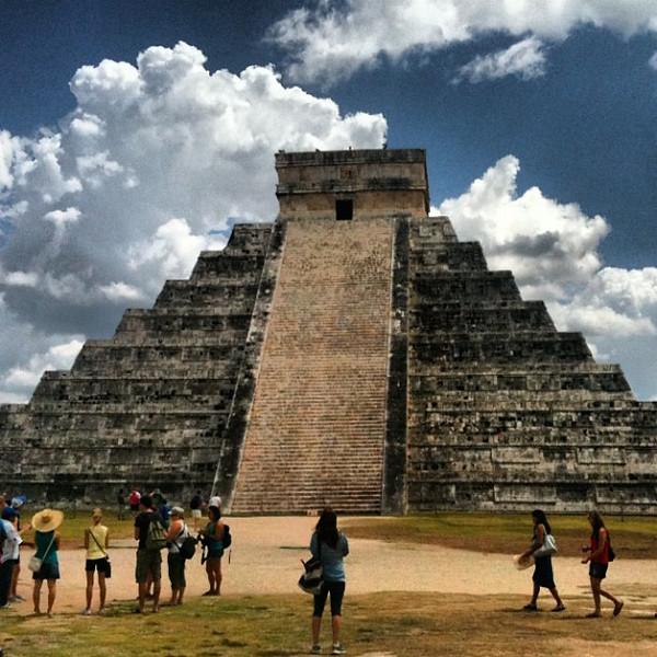Chichen-Itza Mayan ruins #WeVisitMexico