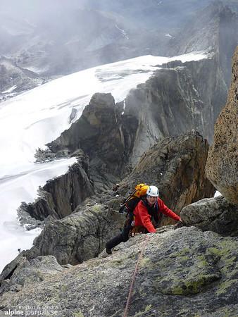 Galenstock alpine tour, Furkapass 2011-08-12