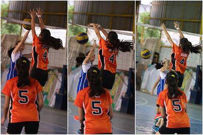 HS Girl's Vball 2014 SFAMSC vs Ruiz