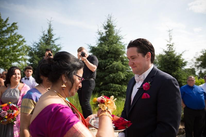 LeCapeWeddings Chicago Photographer - Renu and Ryan - Hilton Oakbrook Hills Indian Wedding -  538.jpg