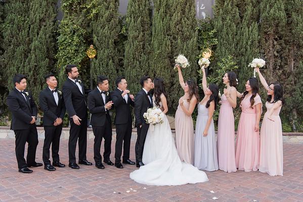 Andrea & Charles: Bridal Party & Family
