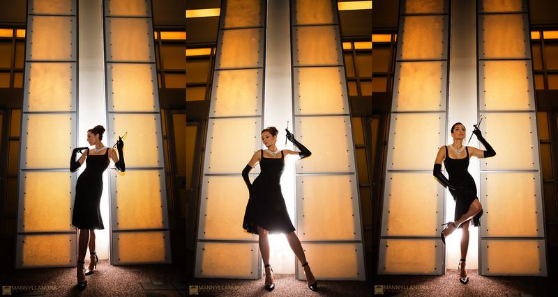 Tatiana Dekhtyar as Audrey Hepburn