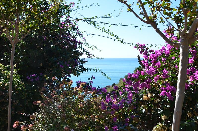The beautiful Mediterranean Sea.