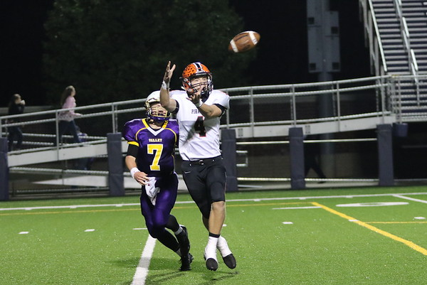 09c Football: Wheelersburg at Valley 2017: THIRD Quarter