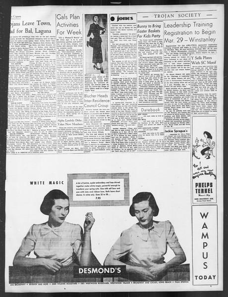 Daily Trojan, Vol. 39, No. 106, March 24, 1948