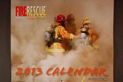 2013 Fire Rescue Calendar