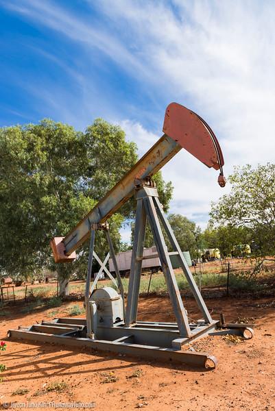 Eromanga Living History Centre - oil rig