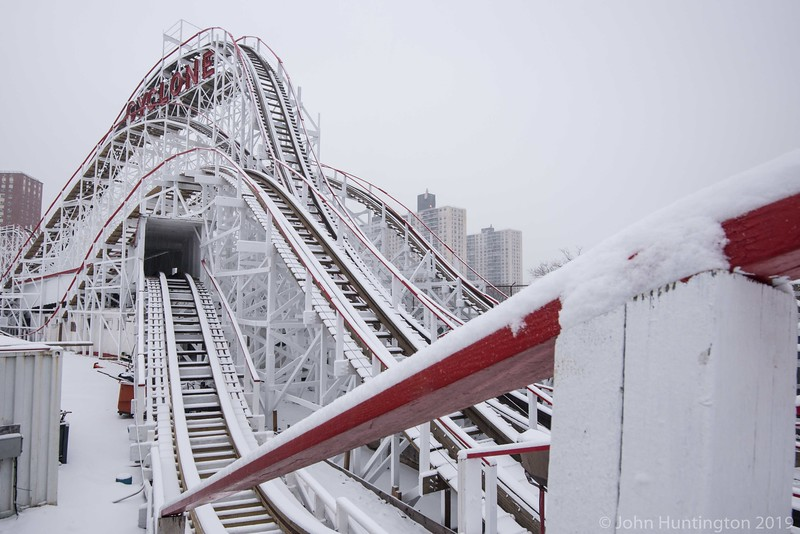 Coney Island Snowstorm February 15, 2016