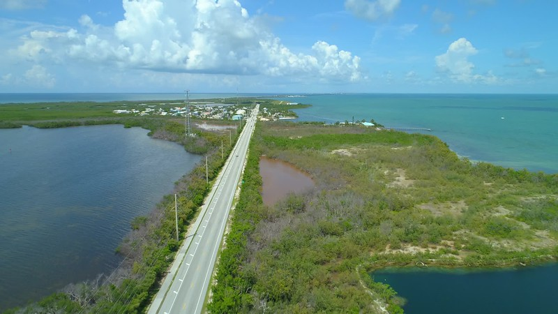 Aerial video Florida Keys 4k 24p cinematic