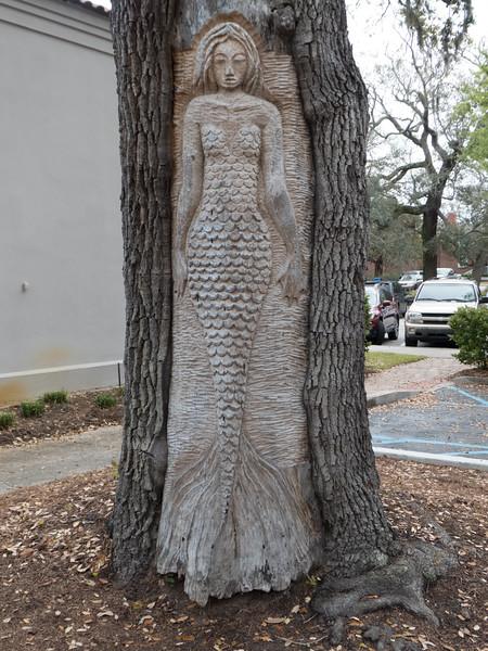 Tree spirit, Saint Simons Island, Georgia