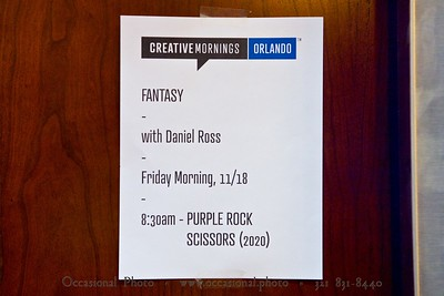 CreativeMornings/Orlando, November 2016