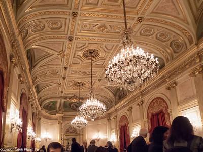 Harvard President Faust Dinner December 2010