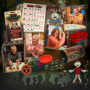 Family Game Night - Zombie Dice (June 2016)