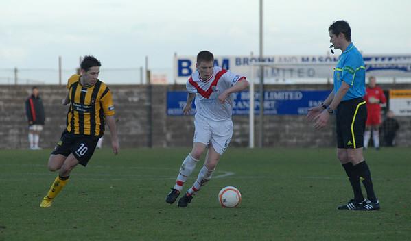 East Fife v Airdrie (0.1) 26 2 11