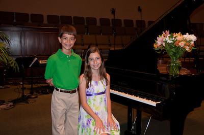 Spring Piano Recital 2012