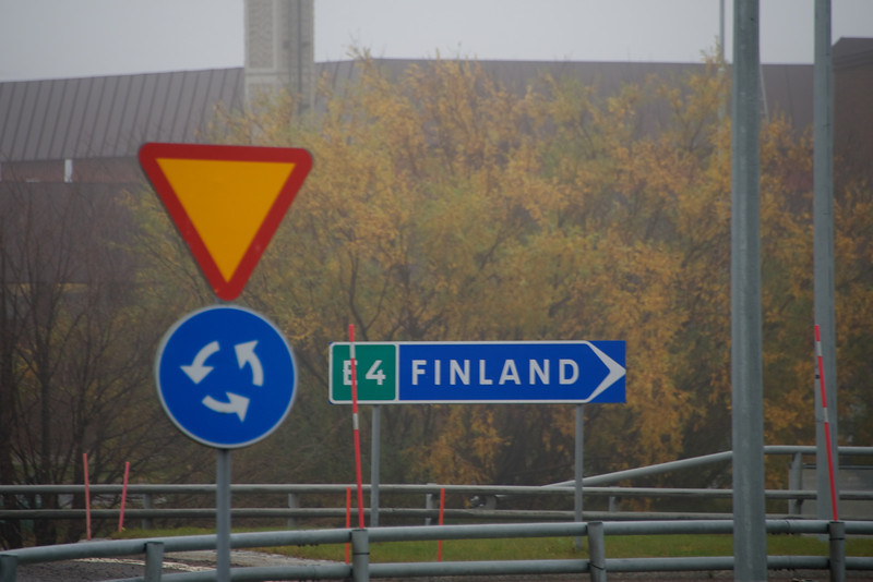 Going into Finland