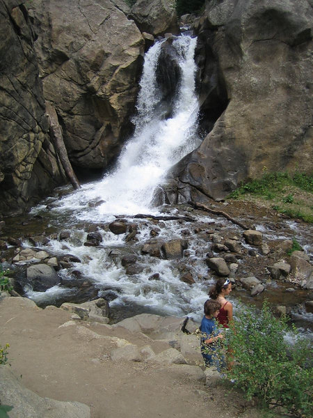 Boulder Falls, Boulder Canyon, Colorado