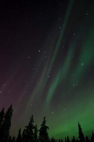 Northern Lights at Ruka II