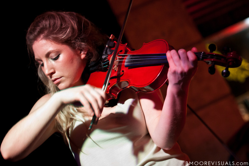 Rebecca Zeller of Ra Ra Riot performs on March 9, 2011 for a sold-out crowd at Crowbar in Tampa, Florida