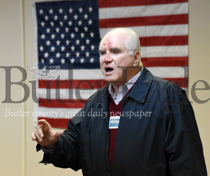 Harold Aughton/Butler Eagle: Congressman Mike Kelly was the keynote speaker at the Butler County Republican Committee and Women for Trump rally held Saturday, January 18, 2020.