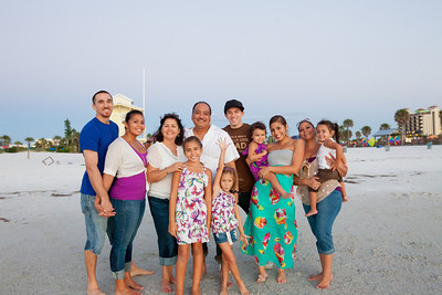 Gerry & family {Clearwater Beach, FL}
