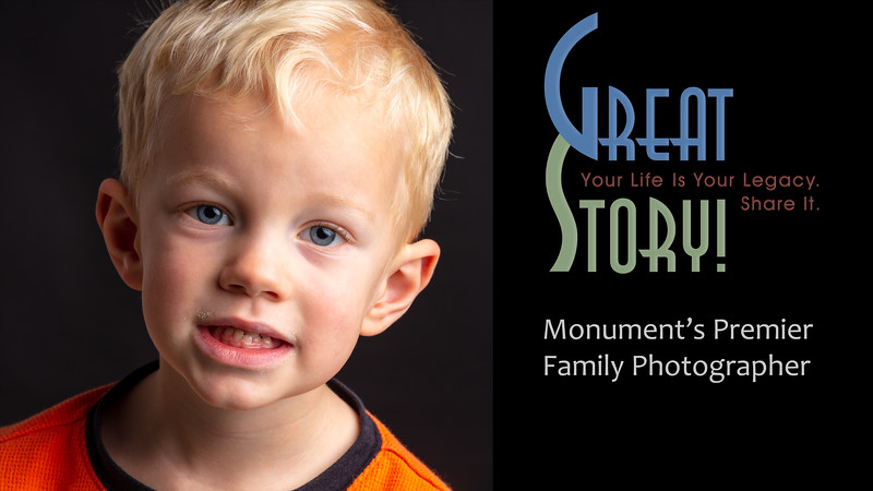 Family Photographer in Monument Colorado, Child Portrait