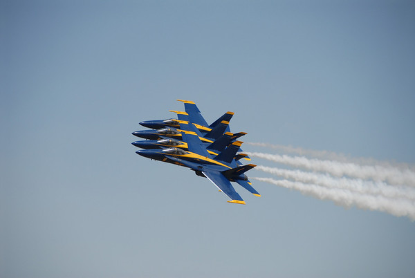 Blue Angles in the Gallatin Valley 2007